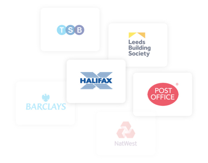 Leading mortgage lenders logos