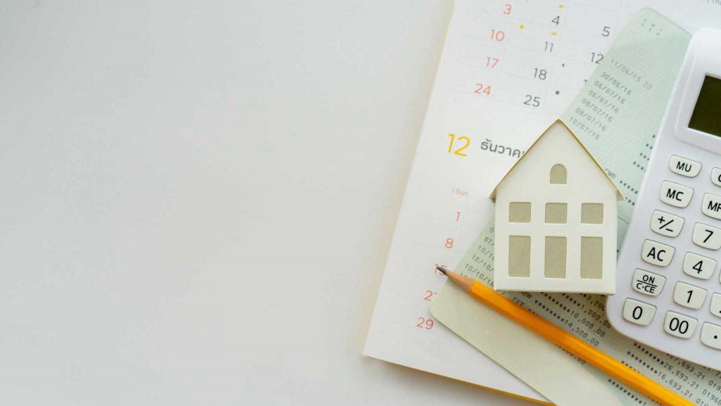 calculating a property valuation